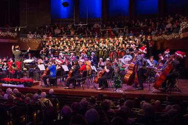 Holidayfest: Selections from Handel's Messiah Featuring five of JMU's vocal ensembles and Symphony Orchestra